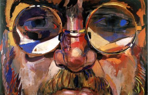 1998-Nello sguardo. Tempera su tavola, cm 119 x 180