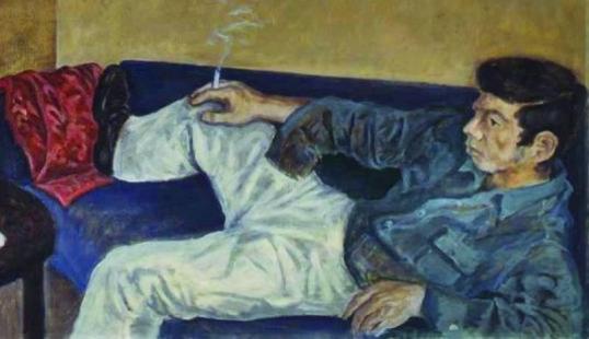 1961 - Uomo con la sigaretta