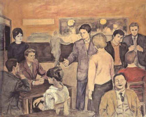 1965 - Il bar degli studenti