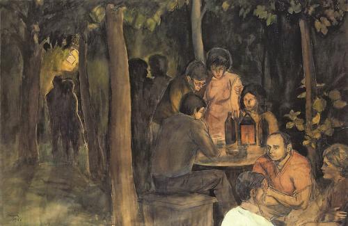 1966 - Festa di notte in giardino