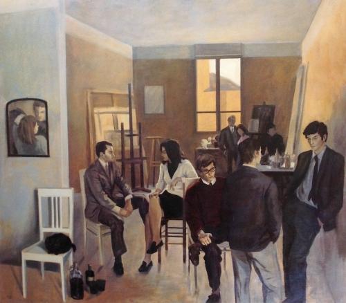1967 - Amici nello studio