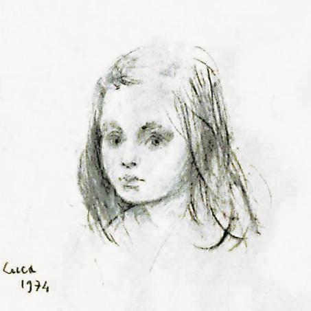 1974 - Ritrattino di Valentina Lori