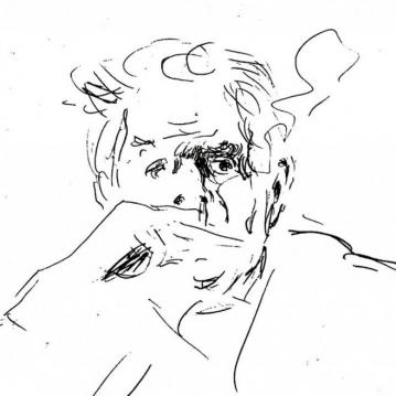 1976 - Ritratto di Eugenio Montale (1)