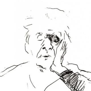 1976 - Ritratto di Eugenio Montale (2)