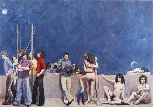 1978 - La vita dell'uomo (metà di sinistra)