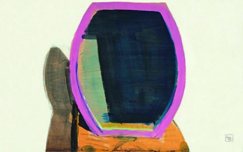 1992 - Specchio lilla