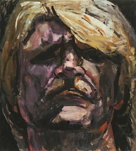 1998 - Autoritratto frontale. Museo d'Arte Contemporanea di Pechino