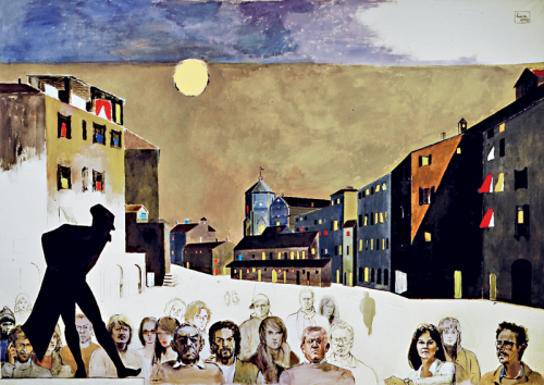 2003 2004 - Terzo pannello del trittico Destini  Comparse