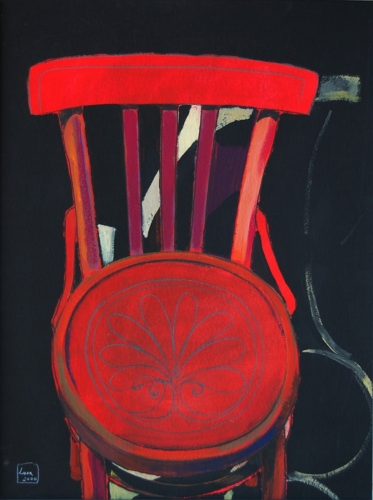 2000 - La thonet rossa