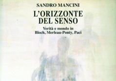 2005 - Sandro Mancini L'orizzonte del senso Copertina