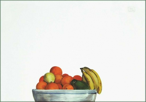 2007 - Arance, banane, una mela e un avocado