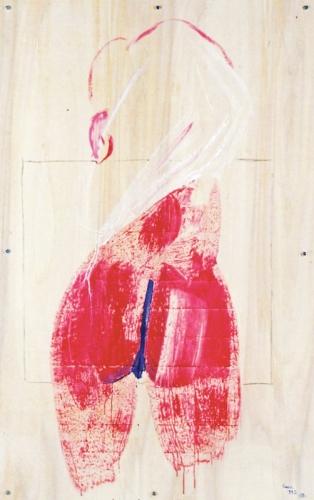 1993 - Grande nudo rosso