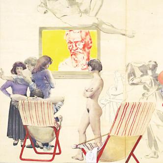 1991 - Primo Pannello Intorno a Michelangelo