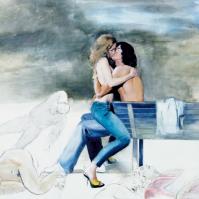 2006 - Primo pannello del trittico Assenze  Il Sonno
