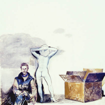 2003 - Primo pannello del trittico Destini  La grande scatola