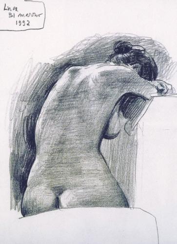 1992 - Seduta di schiena