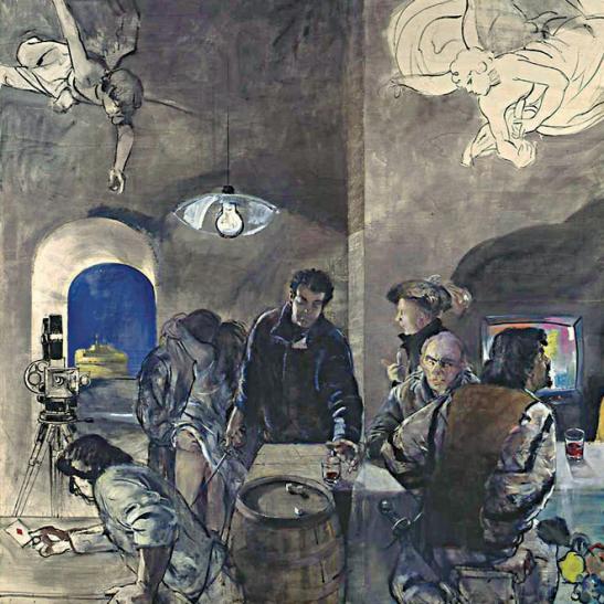 1995 - Sesto Pannello  Ieri sera Caravaggio